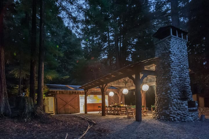 Glamping in the redwoods - Waldhaus at La Honda - La Honda
