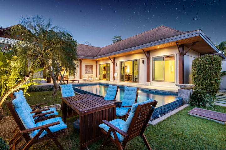 Naiharn Beach Niche 3 Bedrooms Private Pool Villa