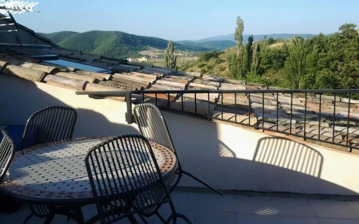 Gite Aubignas Ardèche à 15 km de Montélimar