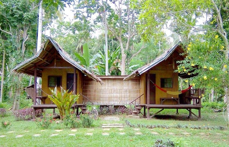 Dorm Bed at Nipa Huts Village Bohol - Loboc - Hut