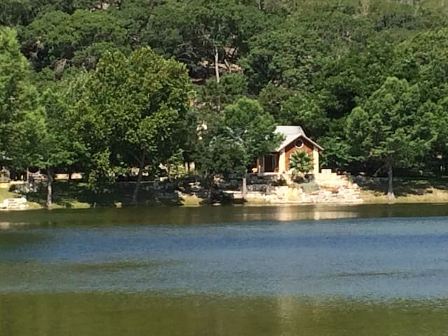 Two Cabins on Private Lake by Hunt & Kerrville