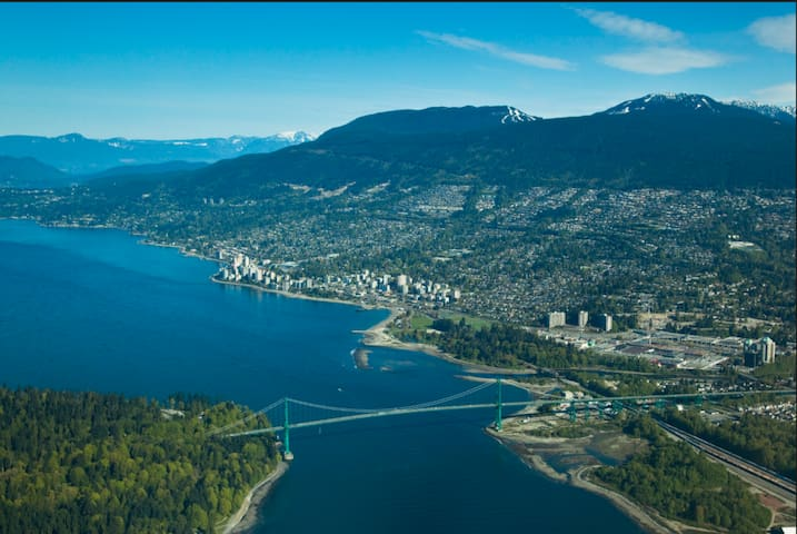 World Class WV-Cozy Apt-Family-Beach 4Min-DT 10Min - West Vancouver - Apartment