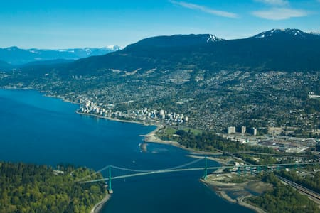 World Class West Van-Lux Apt-10Mins DT-4Mins Beach - West Vancouver - Wohnung