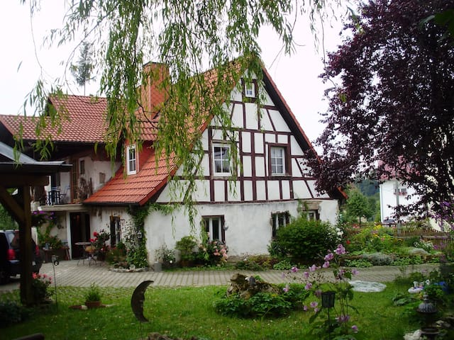 The romantic frankonian Witchhouse