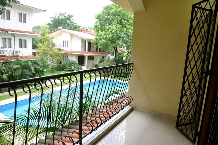 Breathtaking Goa Apartment Rental - Goa del norte - Departamento