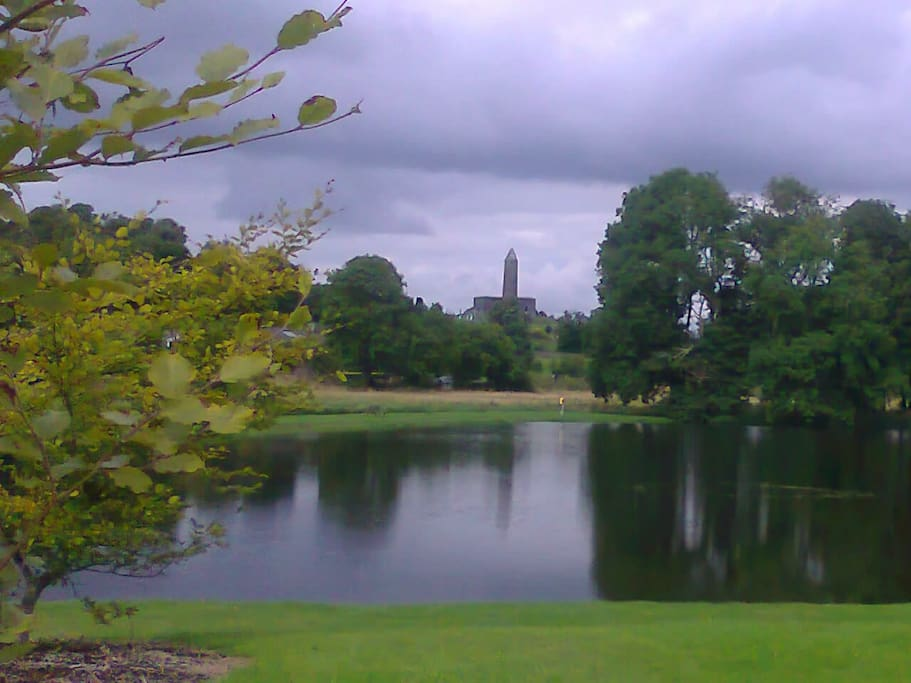 Great place to indulge in a day of traditional country life, Turlough Park and Muesum, 10 min drive