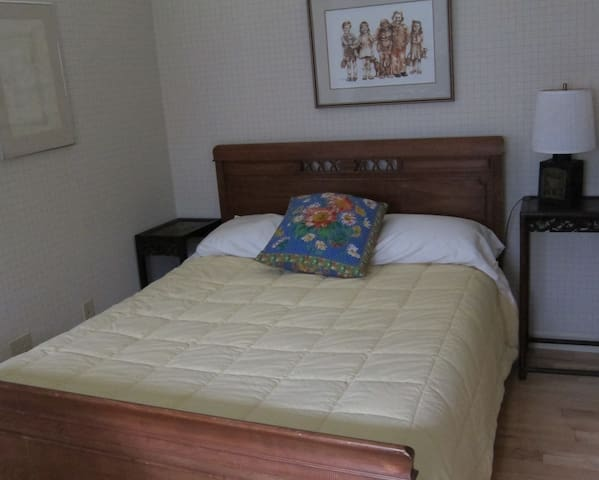 This is the guest bed