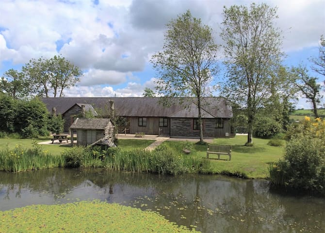 Long Barn cottages indoor pool fishing & hot tubs
