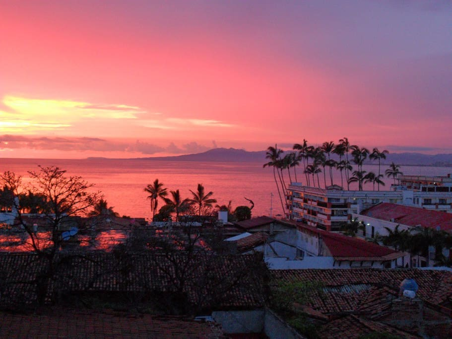 Atardecer desde Terraza / Sunset from Terrace