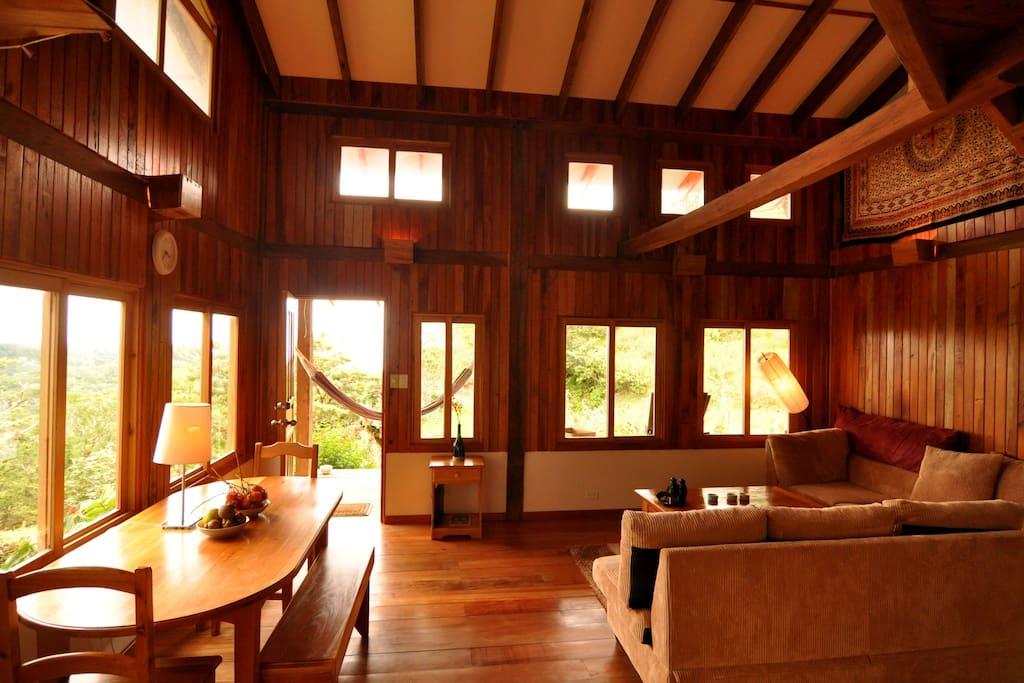 The Cabin at Mount Totumas