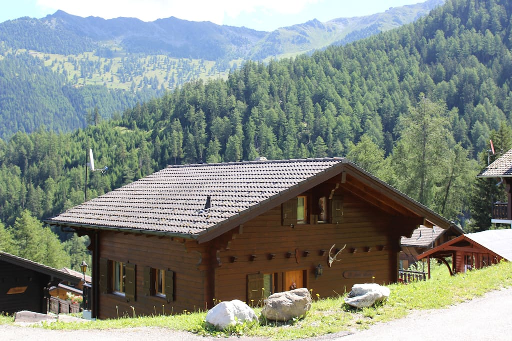 Chalet from the rear