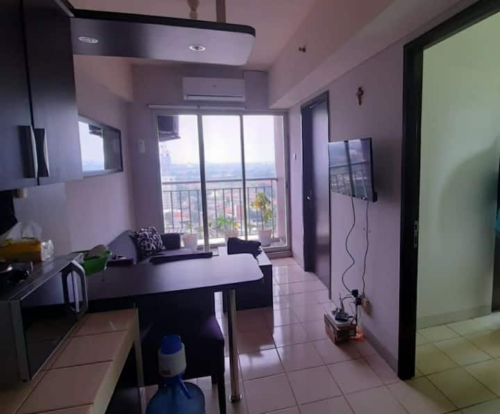 Cozy 2 bedrooms apartment in BSD for rent