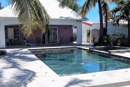 Villa de charme avec piscine, au bord de l'océan - l'Étang-Salé les Bains - House