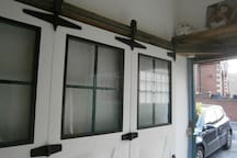 double-glazed and insulated sliding doors