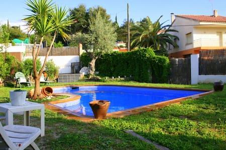 casa con piscina - Viladecavalls - Hus