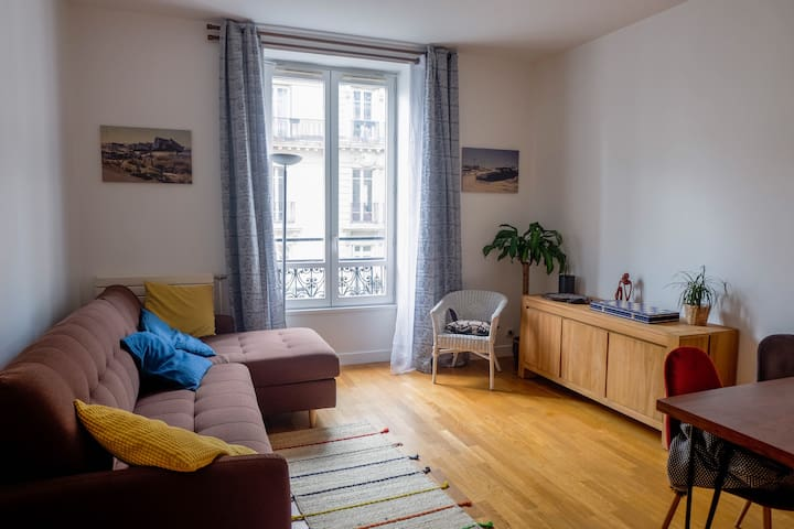 Beautiful apartment near the Marais