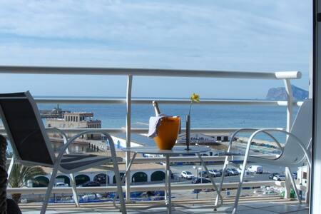 Comfortabel appartement met panoramisch zeezicht