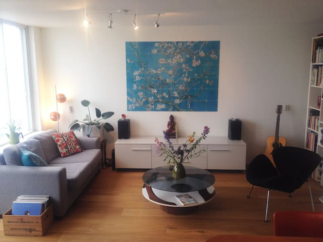 Spacious apartment Historical centre & River view - Nijmegen - Lejlighed