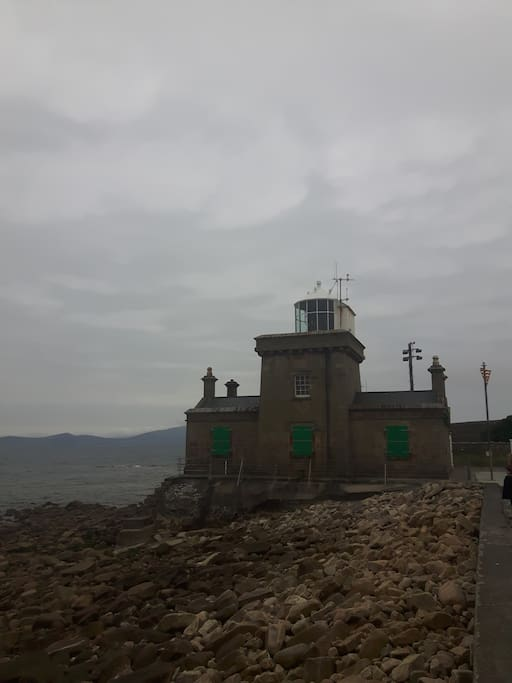 Nearby lighthouse
