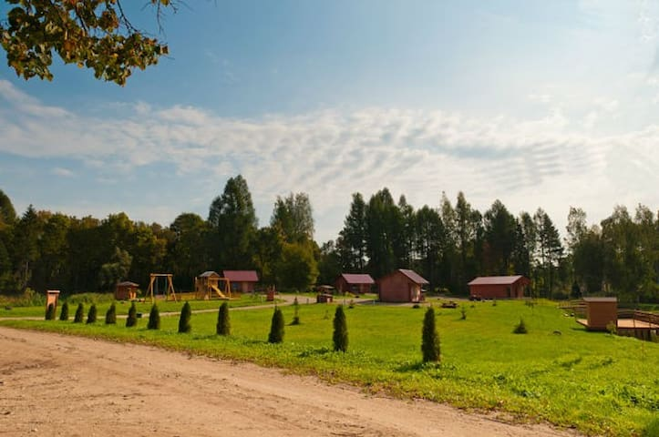 Уютные домики  для отдыха  в Латвии