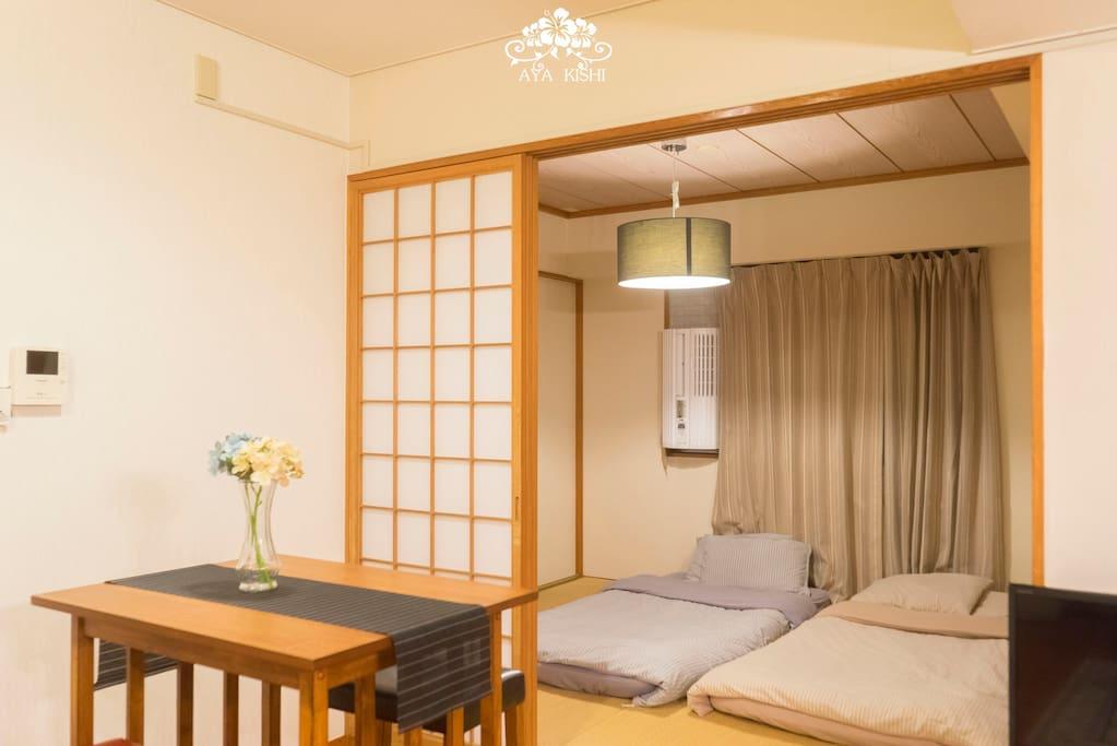 和式睡房,感受道地日式風情