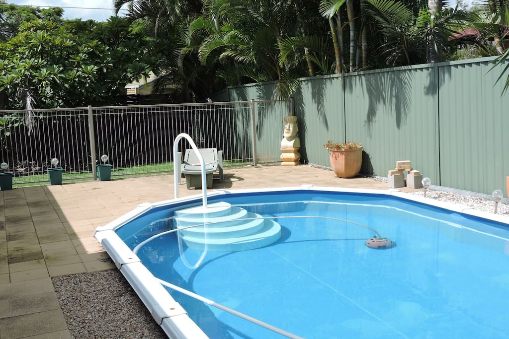 Cool off in the pool (warmer months only)