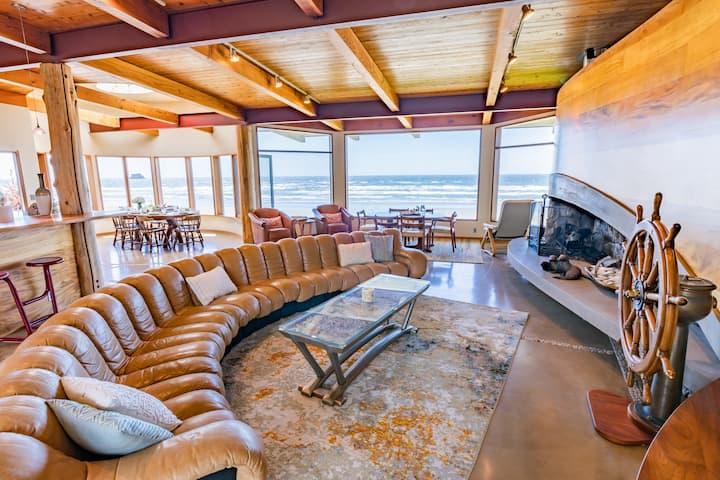 Oceanfront Luxury Beach House w/Breathtaking Views