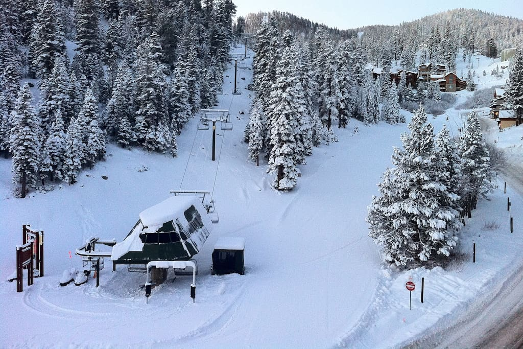 Ski-in/Ski-Out @ Heavenly Stagecoach Lift.  View from outside the front door
