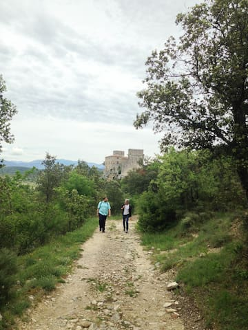Walking in the Languedoc