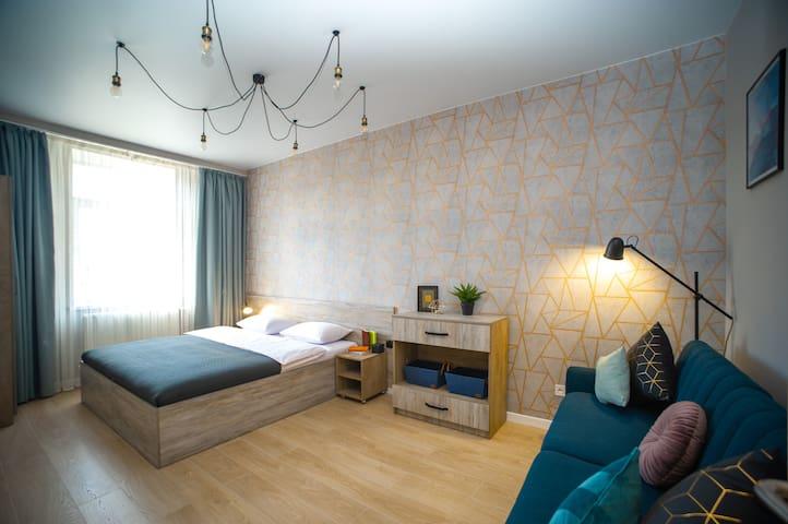 Квартира с 3-мя спальнями в центре Львова