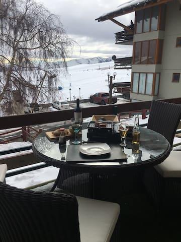 Ubicación ideal en el centro de ski