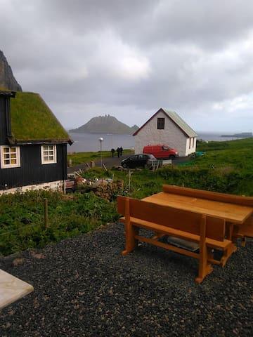 Gásadalsgarður SUMMER SEASON. Guest Room 2 of 4