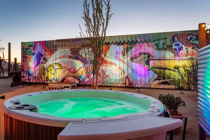 La Bonetto Casita🦩Stock Tank Pool👽Spa🦩Music Lounge