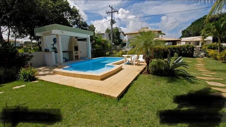 Casa 5 suítes Guarajuba Bahia