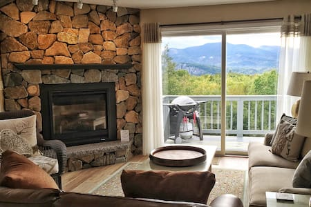 Cozy Mtn House II Fireplace Deck AC Pool Fab Views - Intervale - Wohnung