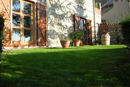 Rustic Accommodation with Garden  - Roccastrada