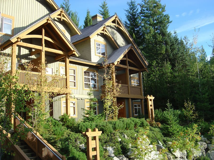 Our beautiful Mountain Star property - Summer