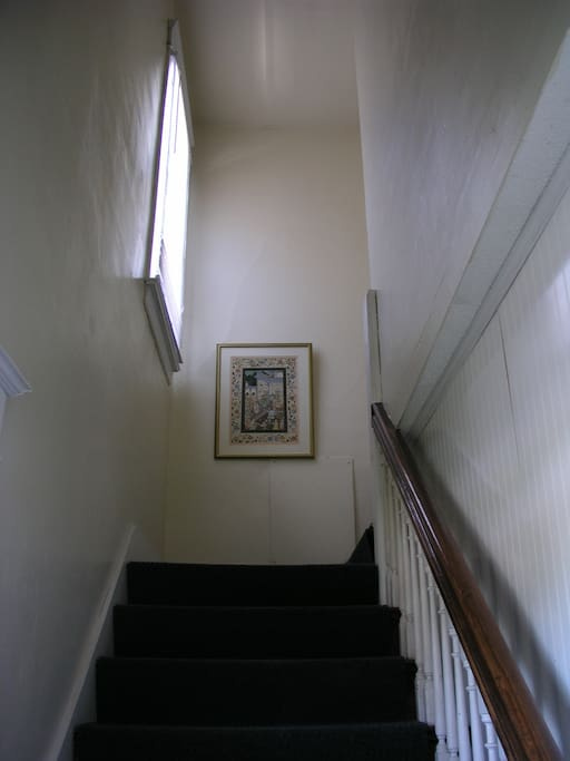 Stairs to the Guest Rooms