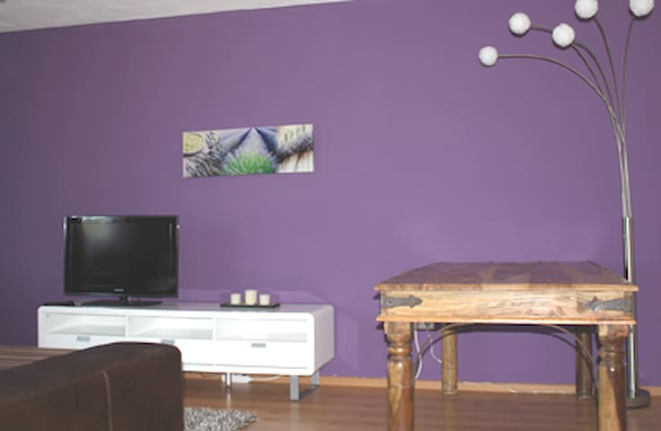 gallery-flat close to the airport - Buch - Apartment