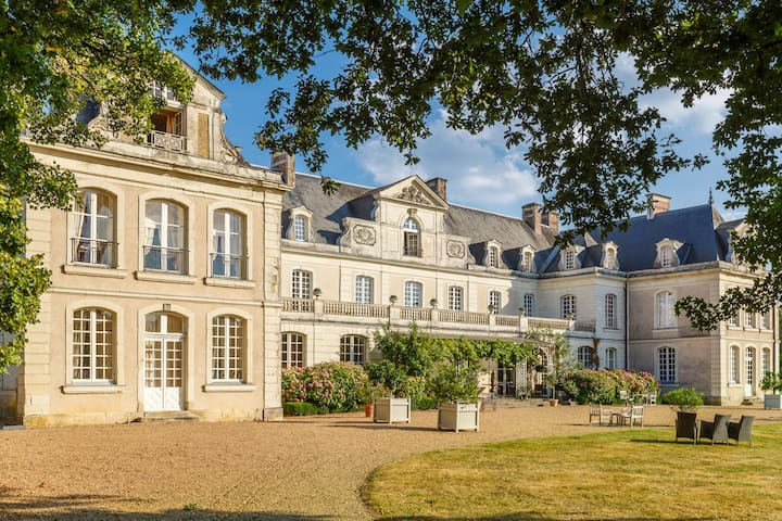 Private  Family Chateau in the Loire Valley