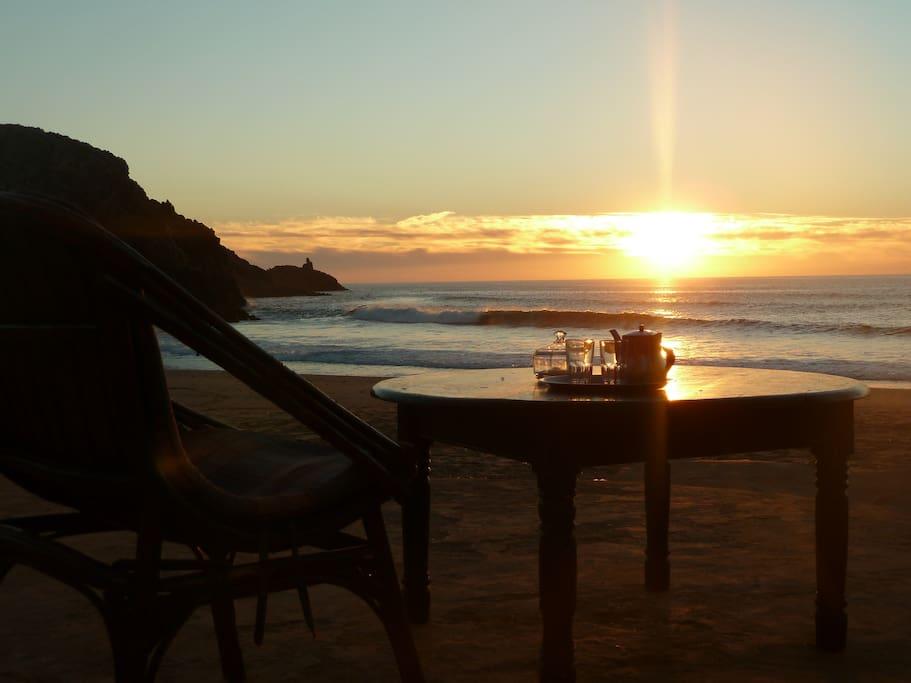 zimmer direkt am strand h user zur miete in mirleft souss massa dr a marokko. Black Bedroom Furniture Sets. Home Design Ideas