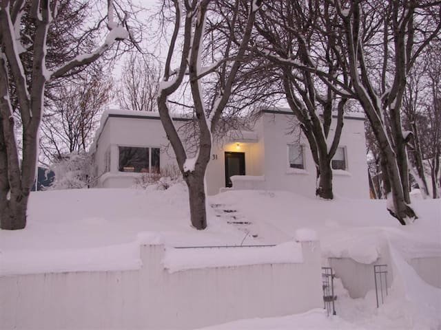 Family home in the center of Akureyri - Akureyri - Huis