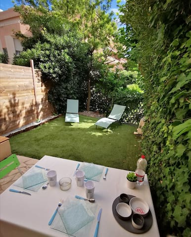 Studio rez de jardin à Sainte-Maxime