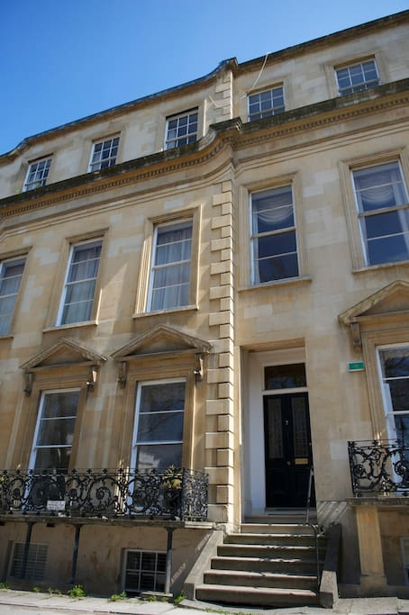 Building exterior - Royal Parade is a Regency terrace constructed with Cotswold stone