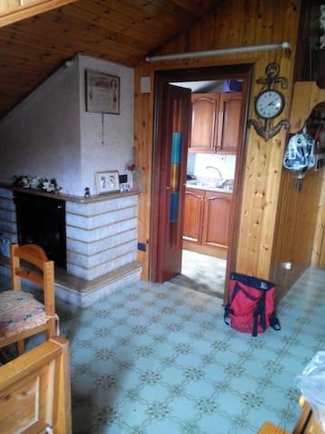 Lo chalet di collina - Villa Pigna - Selveierleilighet