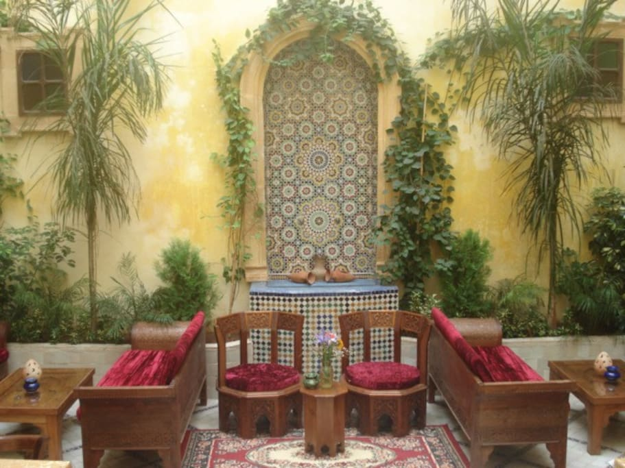Riad marlinea chambres d hotes bed breakfasts for rent for Chambre d hotes for sale