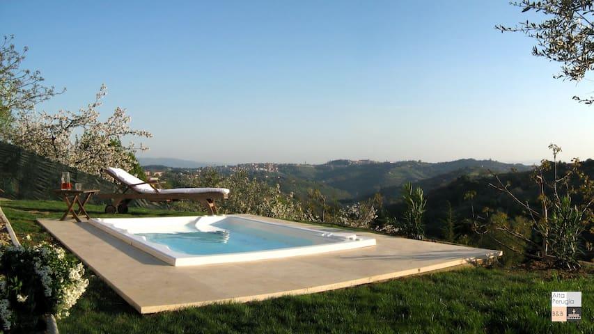Alta Perugia Bed&Breakfast Camera A - Perusa - Bed & Breakfast
