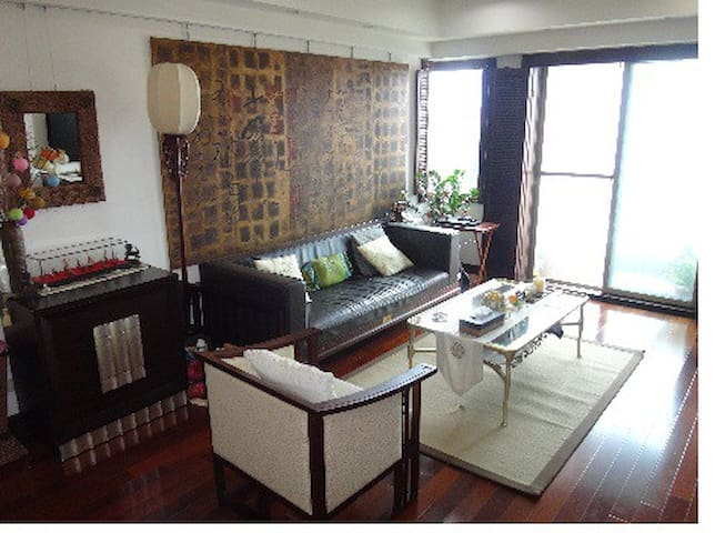Luxury view furnished condo in TPE