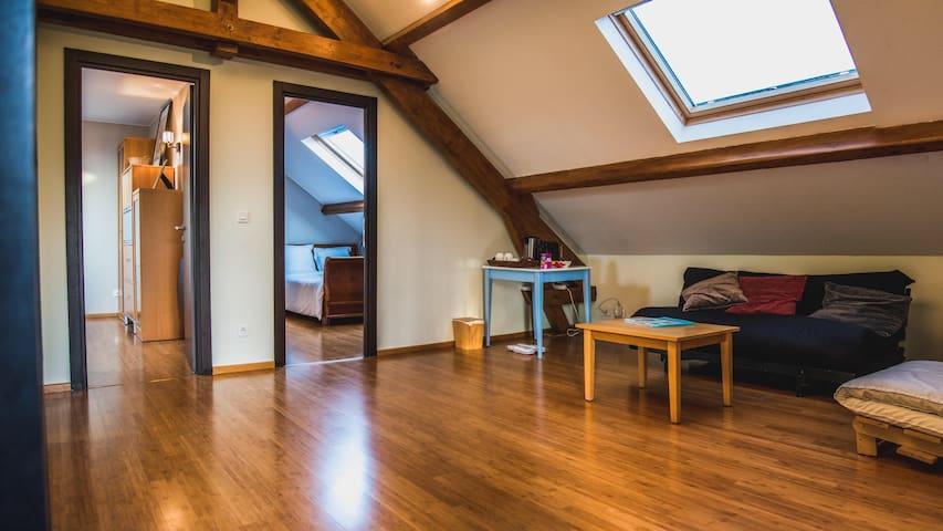 Chambre privée en étage séparé - Yutz - Huis