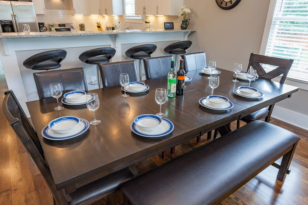 Seating and dining for all of your guests